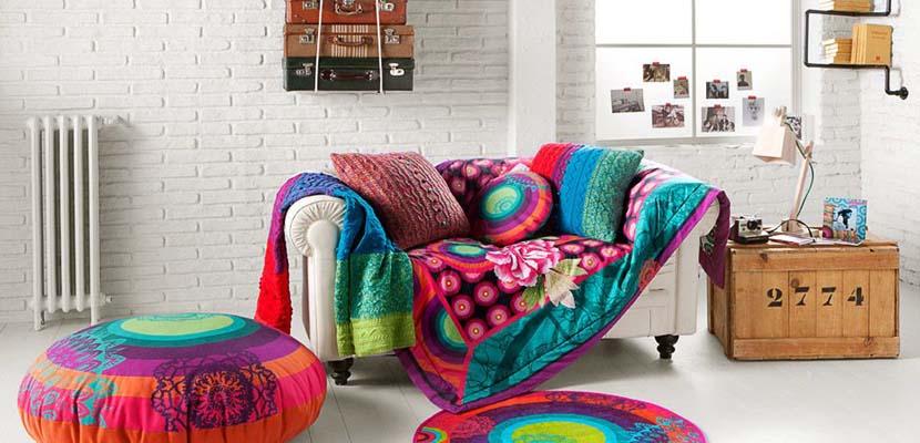 Textiles de hogar para el salón