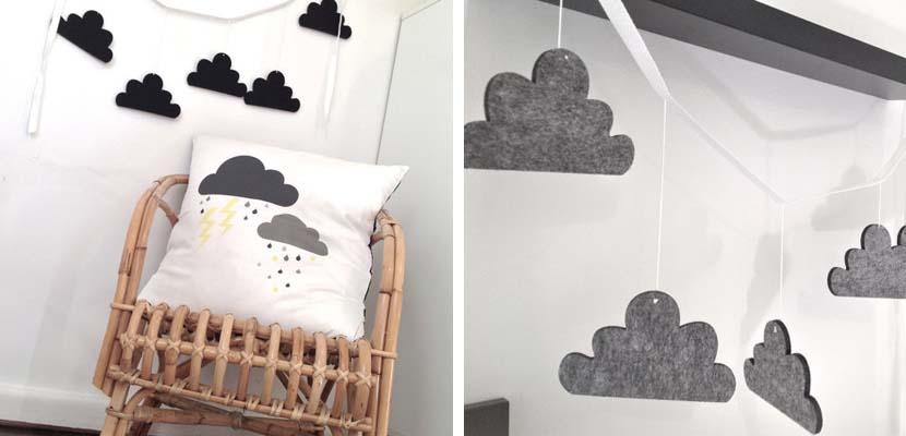 Dormitorios infantiles inspirados en la lluvia