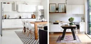 Cocinas con alfombra
