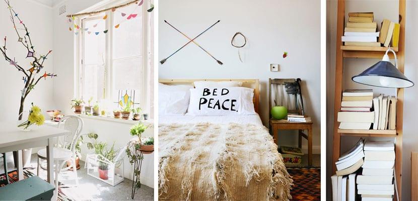 Casa de estilo hippie
