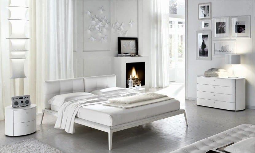 dormitorio matrimonio blanco