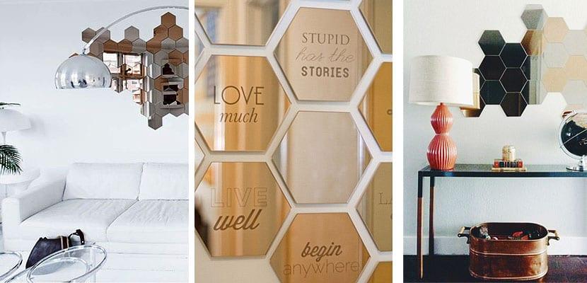 Propuestas Decorativas Espejos Adhesivos Honefoss De Ikea - Espejos-de-pared-economicos