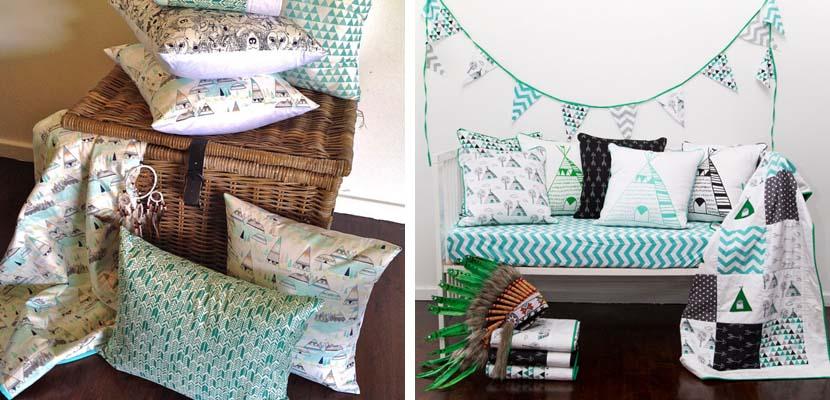 Una habitaci n infantil con el color verde como protagonista - Habitacion infantil verde ...