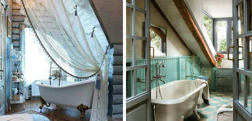 Baño en el ático