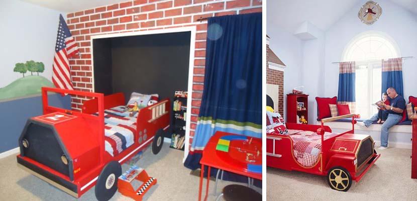 Vehículo-cama para niños