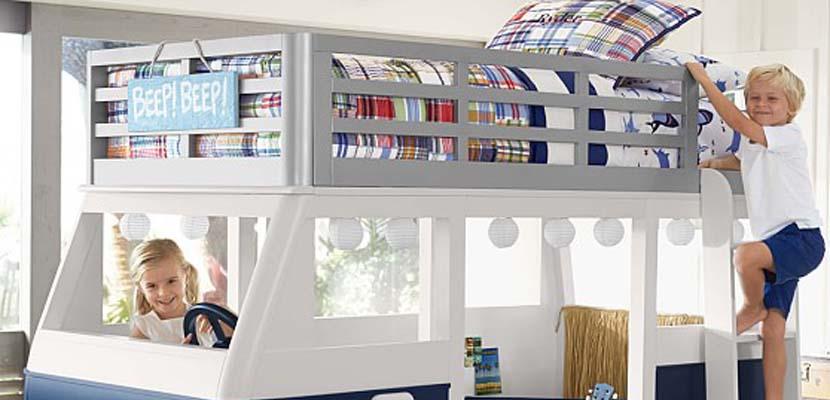 Vahículo-cama para niños