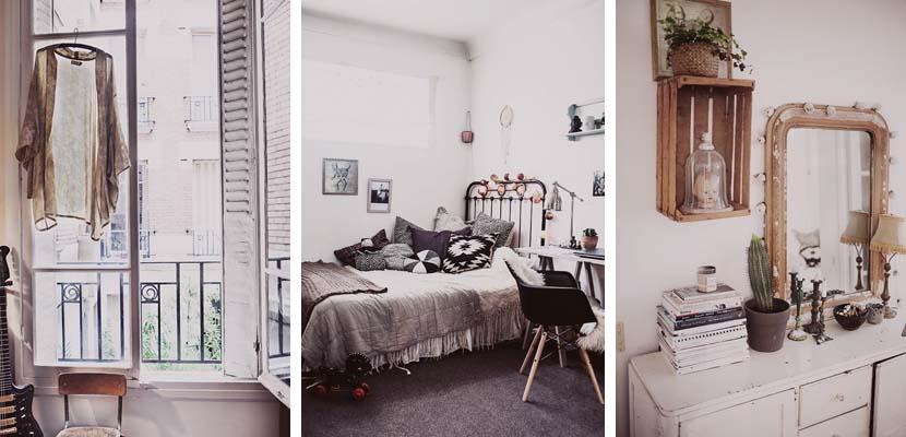 Casa romántica en París