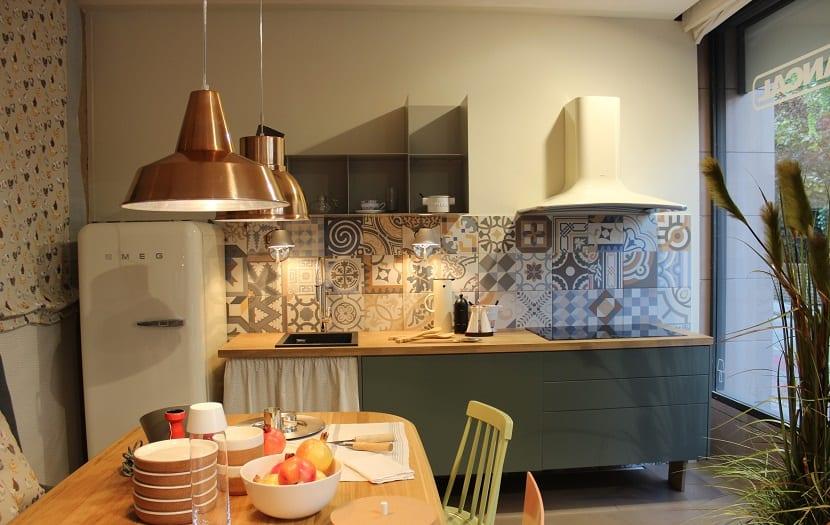 cocina vintage estampados