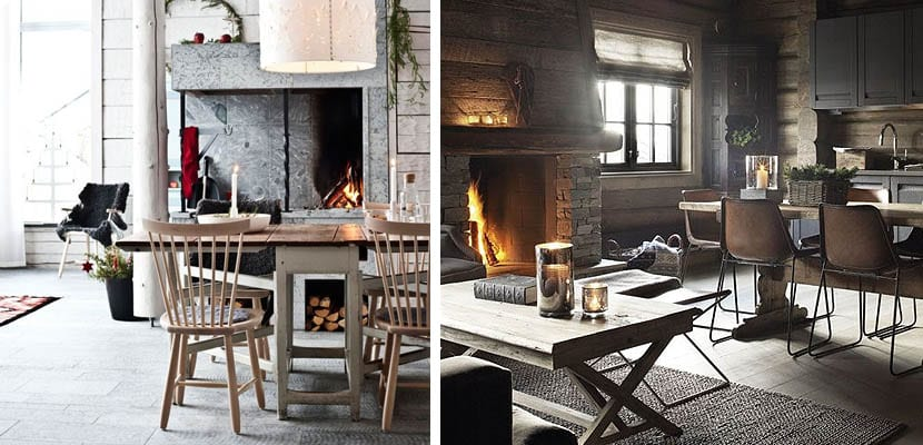 Idea spara decorar un comedores r stico con chimenea for Comedores con estilo