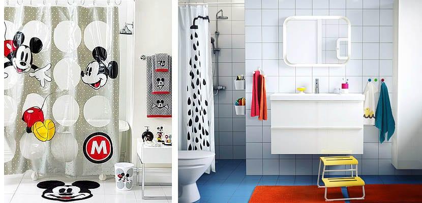 Cuartos de baño diseñados para niños