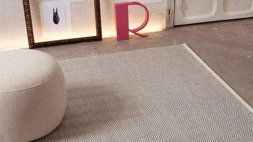 Decora tu sal n con alfombras de fibras naturales for Alfombras de salon