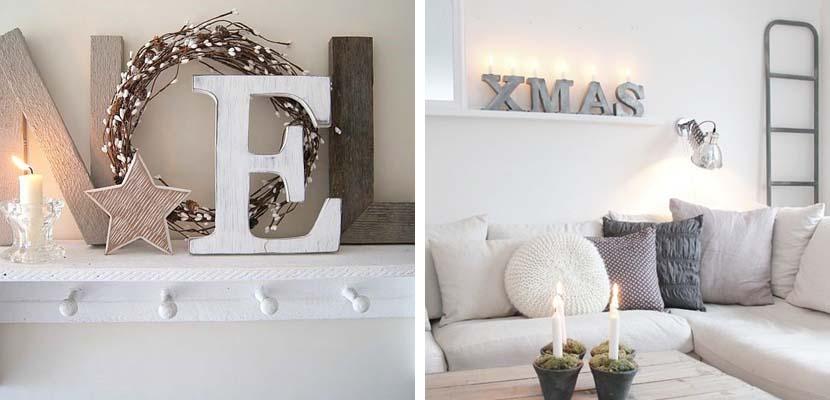 Navidad escandinava en el hogar for Decoracion hogar navidad 2014