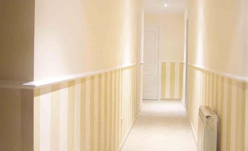 Cómo pintar un pasillo según sus características?