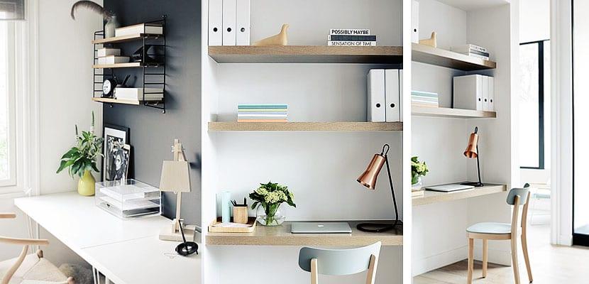 C mo decorar la zona de estudio de una habitaci n infantil - Como decorar un estudio pequeno ...