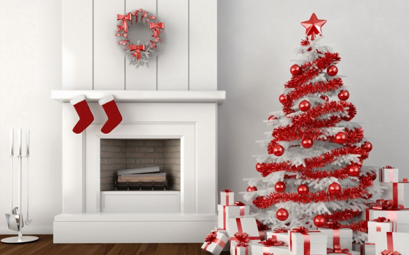 arbol de navidad blanco
