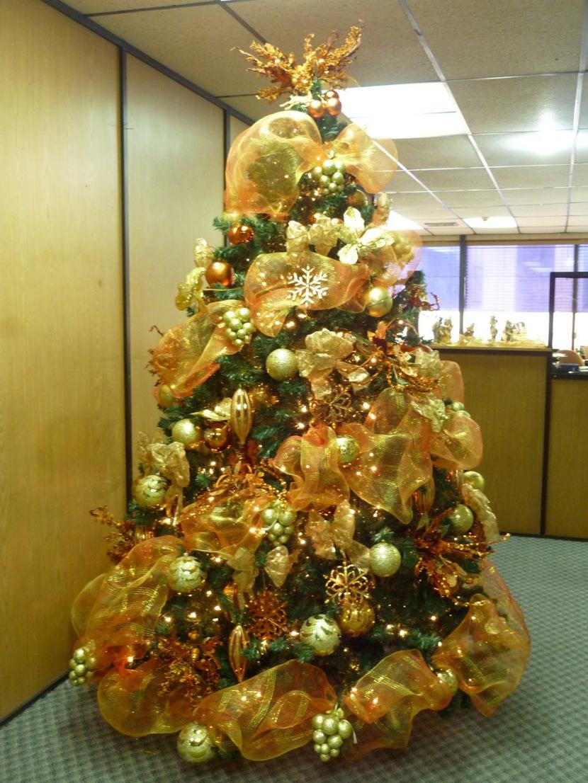 Ideas originales para decorar un rbol de navidad - Imagenes de arboles navidad decorados ...