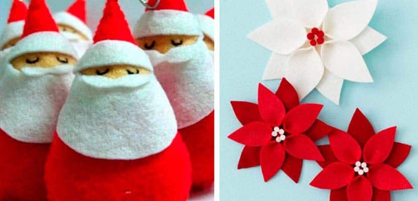 Decoraciones navideñas DIY