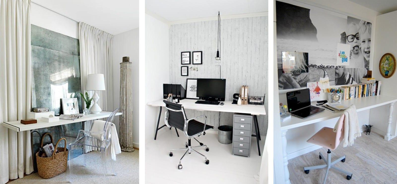 Decorar el hogar para trabajar en casa Decoracion de espacios de trabajo