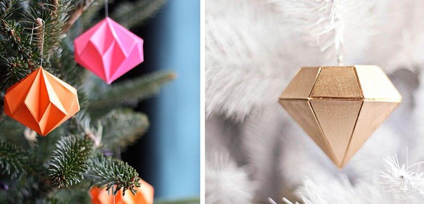 Adornos árbol de Navidad DIY