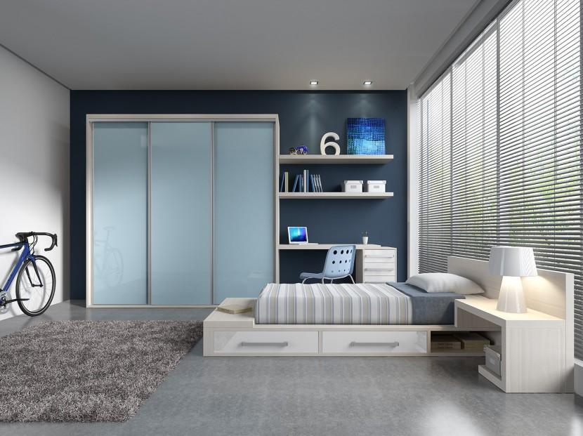 Ideas para combinar colores en el dormitorio for Color de moda para el dormitorio principal