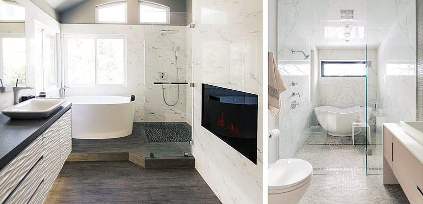 Baños con bañera y ducha