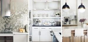 Frentes de cocina de acero inoxidable