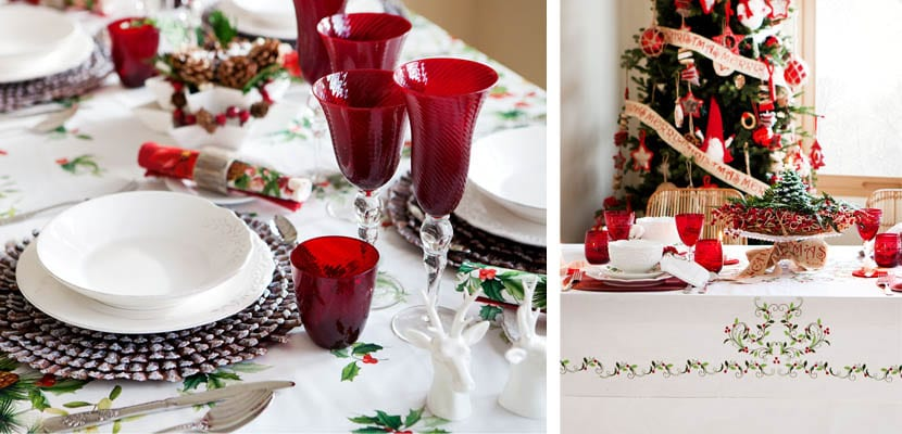 Mesa Navidad Zara Home
