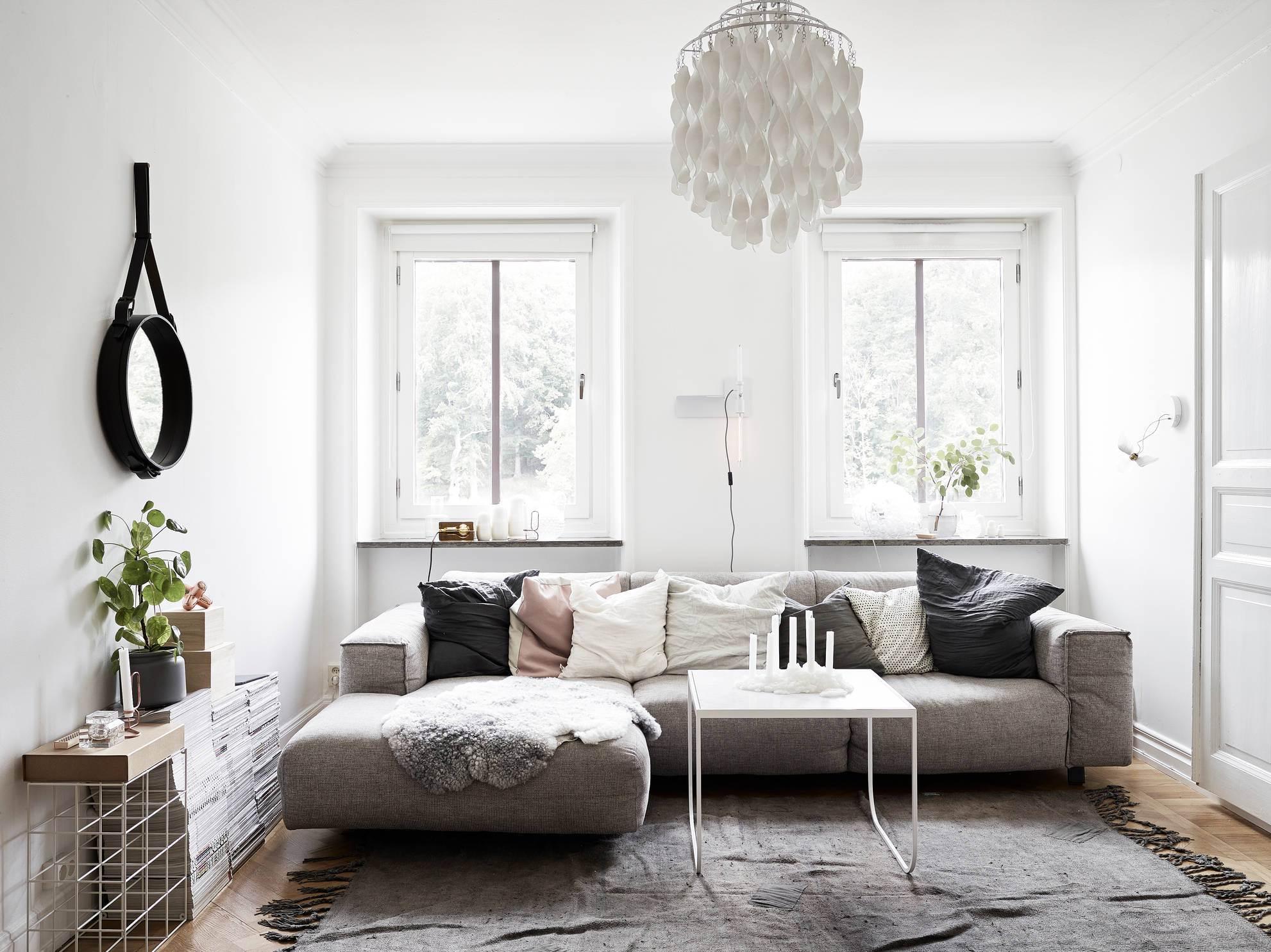 Consejos de decoración para un salón pequeño