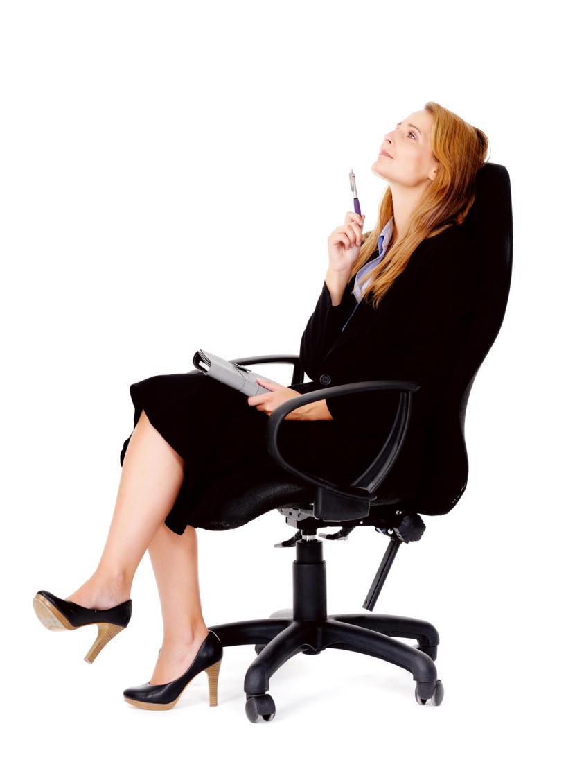 Tipos de sillas para la oficina for Sillas comodas para trabajar