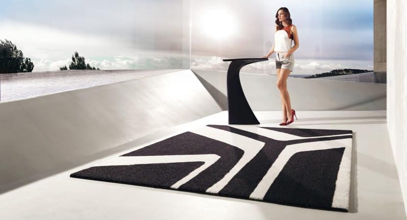alfombra geometrica exterior