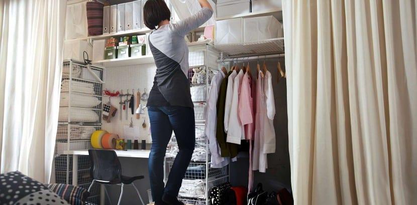 almacenaje en casa