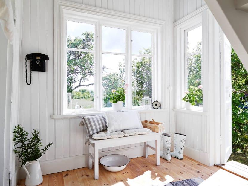 caseta jardin interior