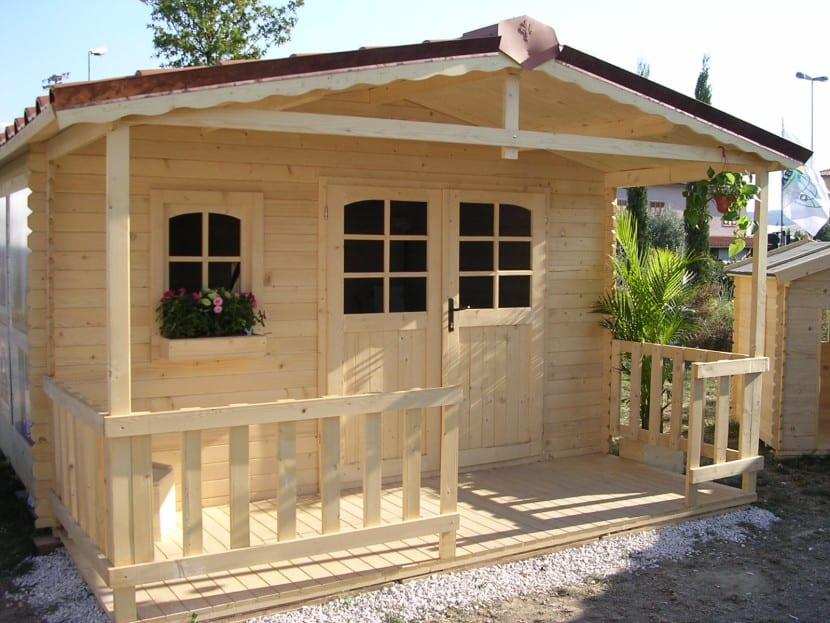 Casetas bonitas para el jard n for Casitas con jardin