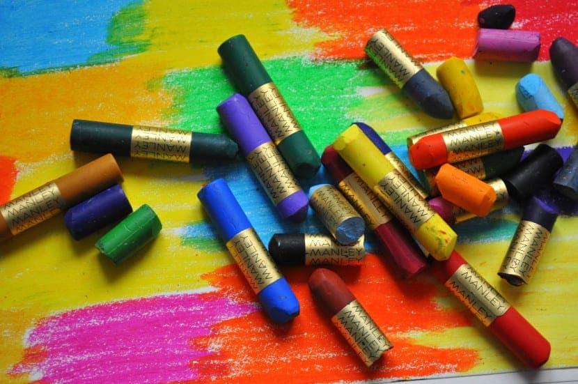 ceras de colores blandas