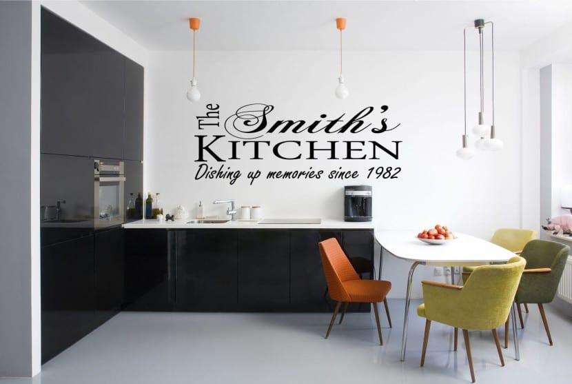 cocina redecorada