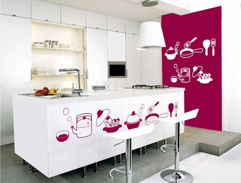 cocina redecorada vinilos