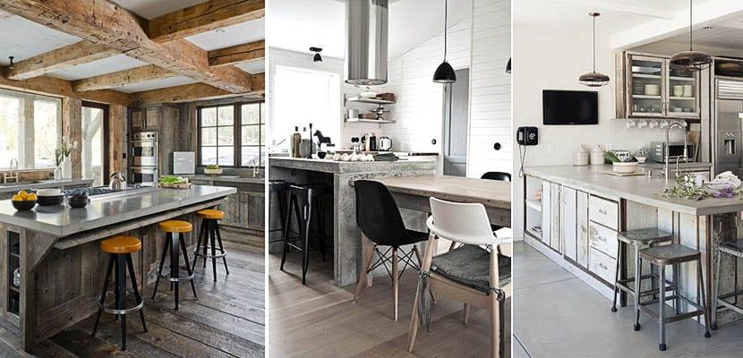 Cemento pulido en el dise o de la cocina for Cocinas de concreto modernas