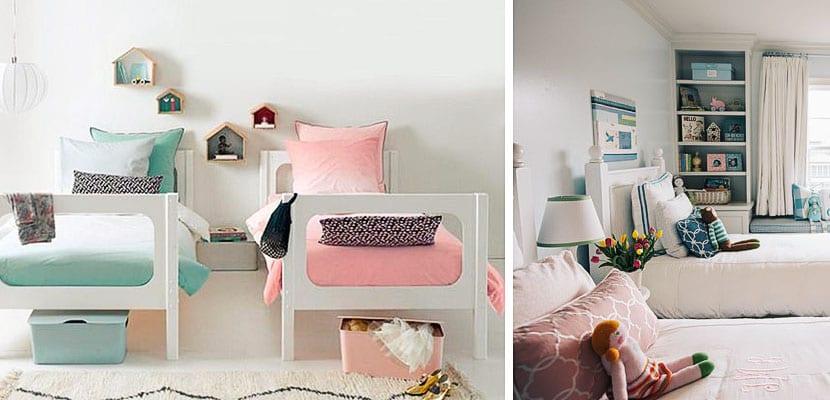 Dormitorios compartidos niña/niño
