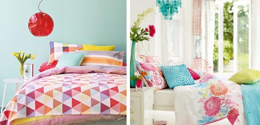 Habitaciones coloridas