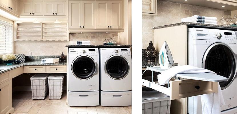Elementos imprescindibles en un cuarto de lavado
