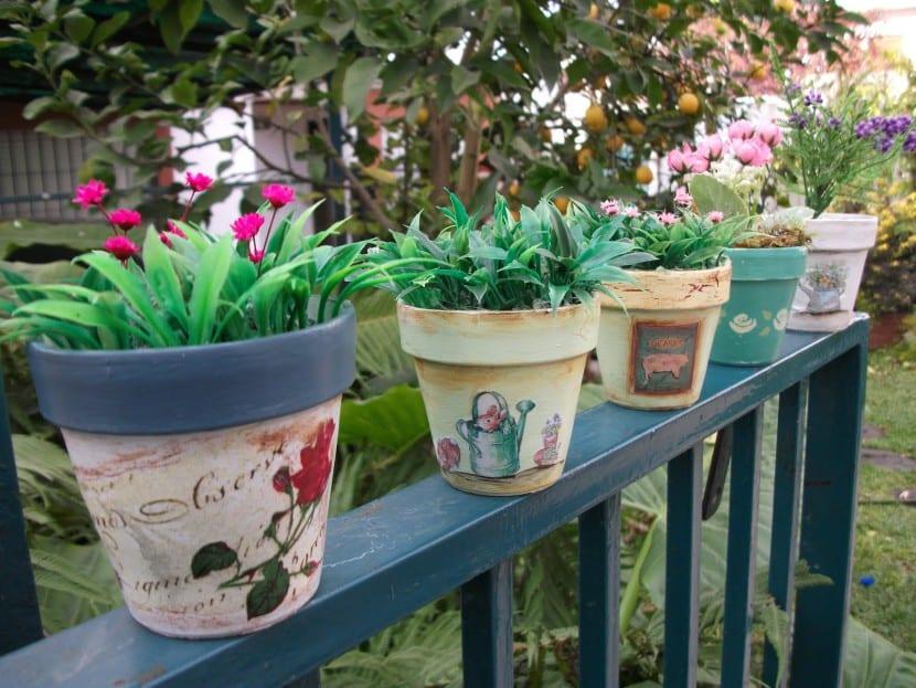Las macetas en la decoración de tu hogar