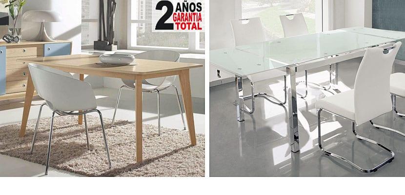 Mesas de comedor muebles Boom