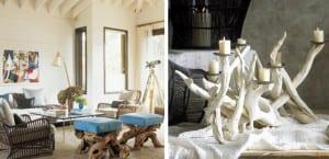 Muebles con ramas