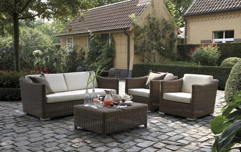 Decorar la terraza con muebles de exterior