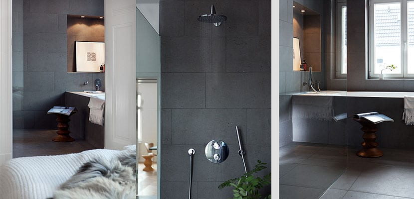suelos de roble e interiores elegantes