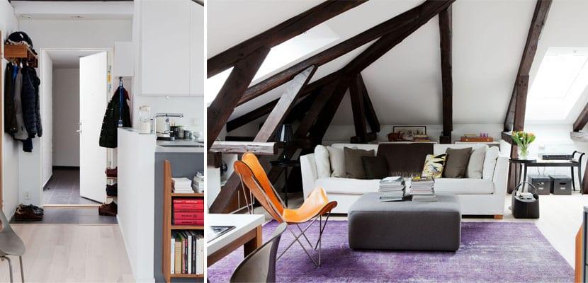 Ideas para decorar un piso en el tico - Aticos en silla ...