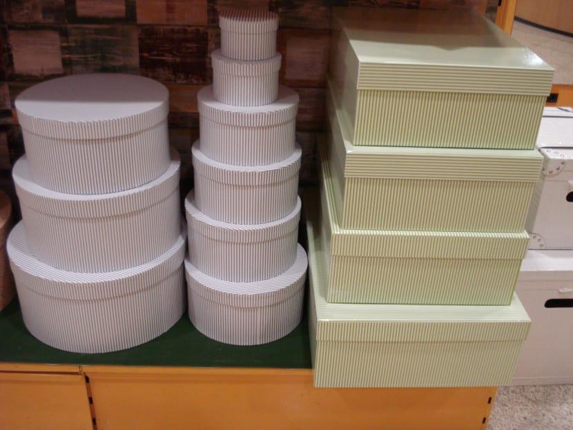 cajas para el hogar