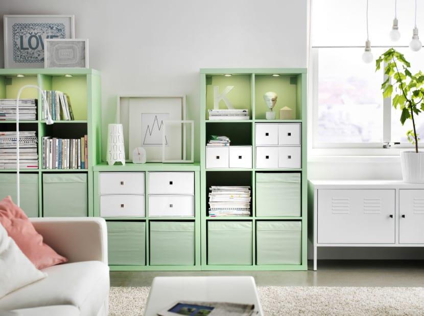 decorar en verde