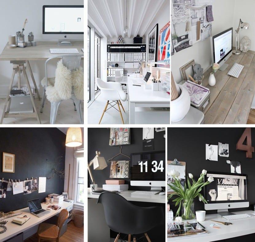 Ideas para decorar un despacho peque o - Decoracion despacho en casa ...