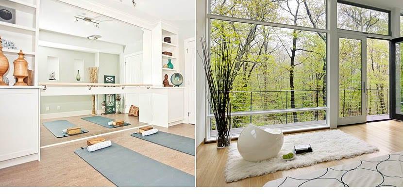 Como crear tu cuarto de yoga en casa - Espacio para el yoga ...